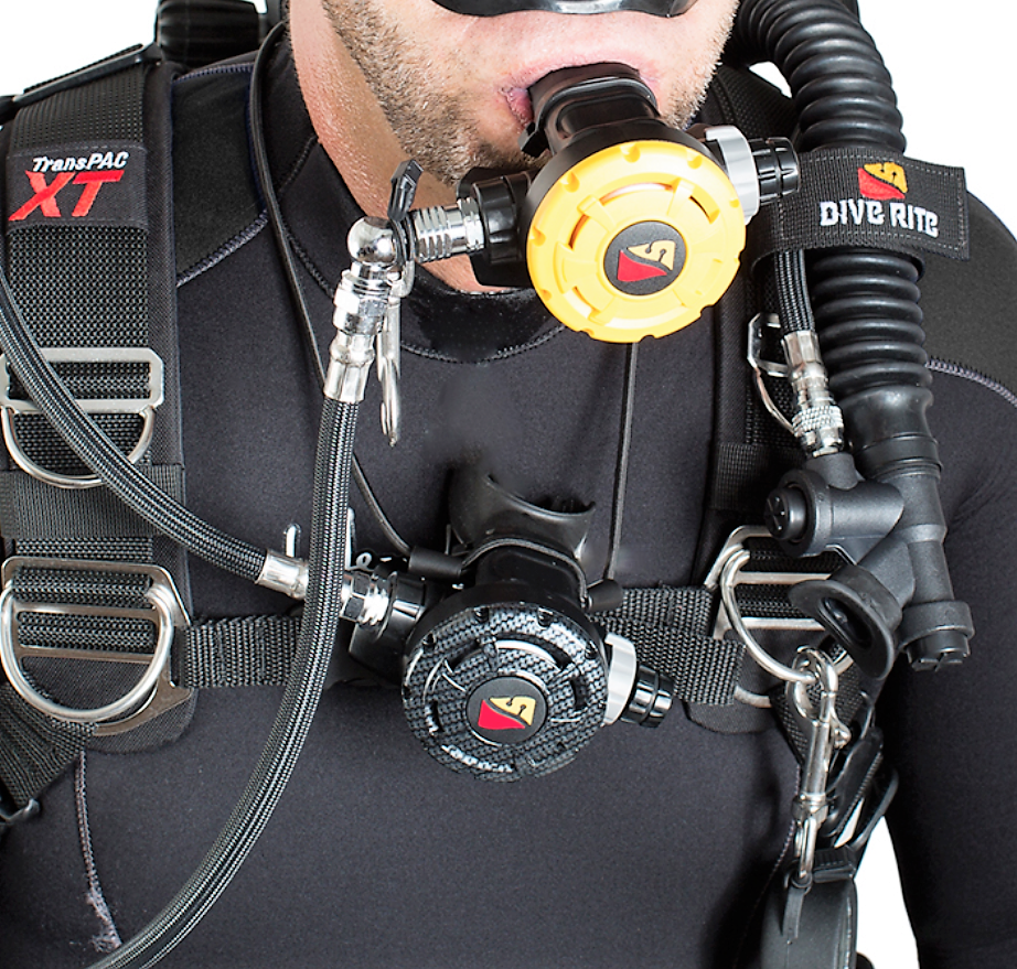 Necklace Regulator Diving Air Source